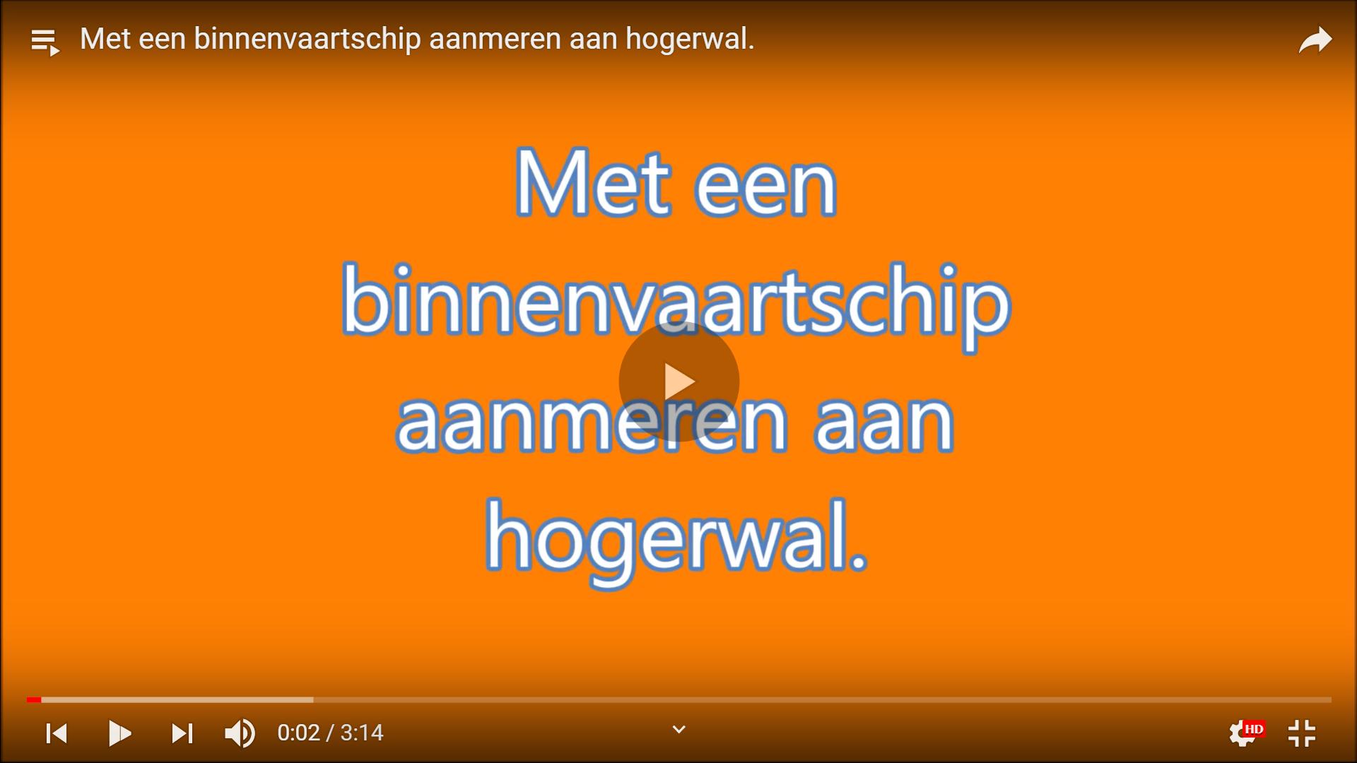 Video binnenvaart opleidingen