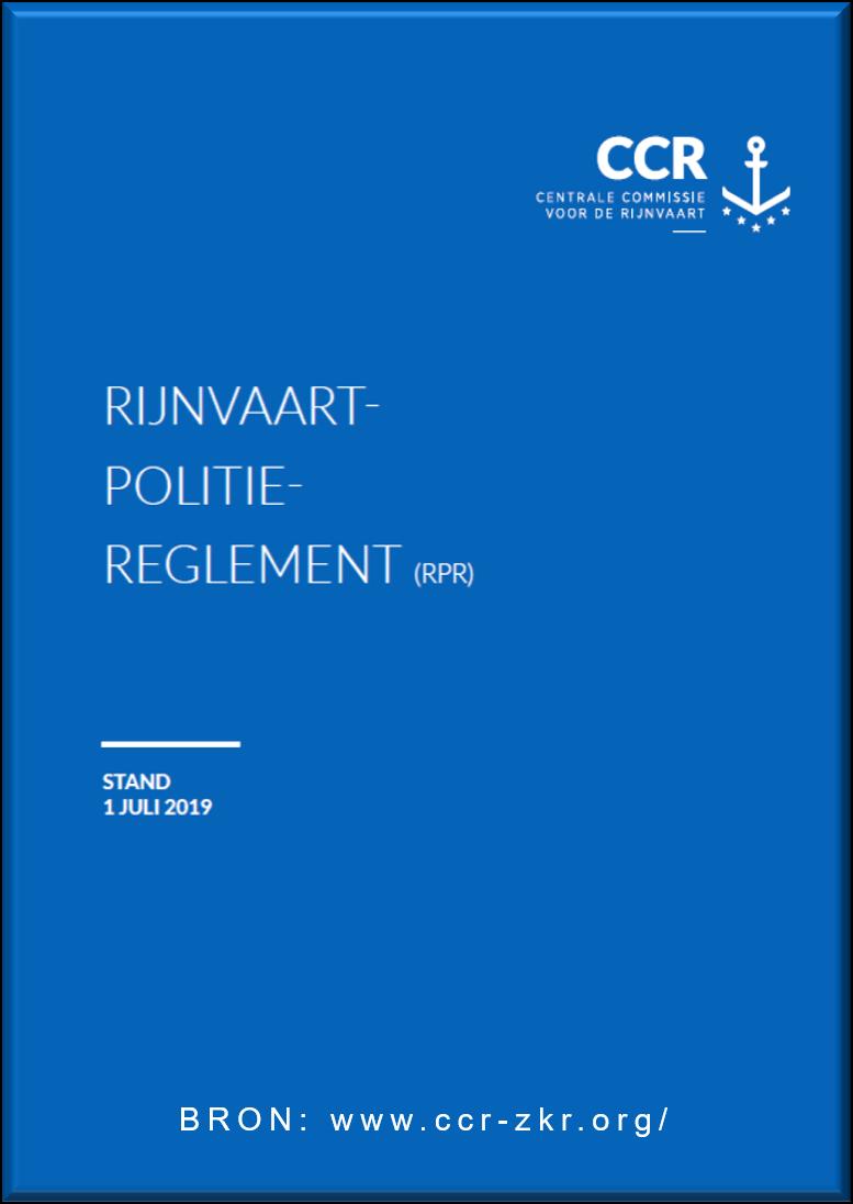 Rijnvaart Politie Reglement 2019